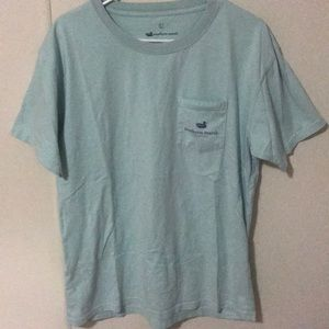 Southern Marsh blue pocket shirt size large